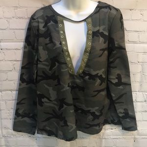 YOINS Your Inspiration camouflage top